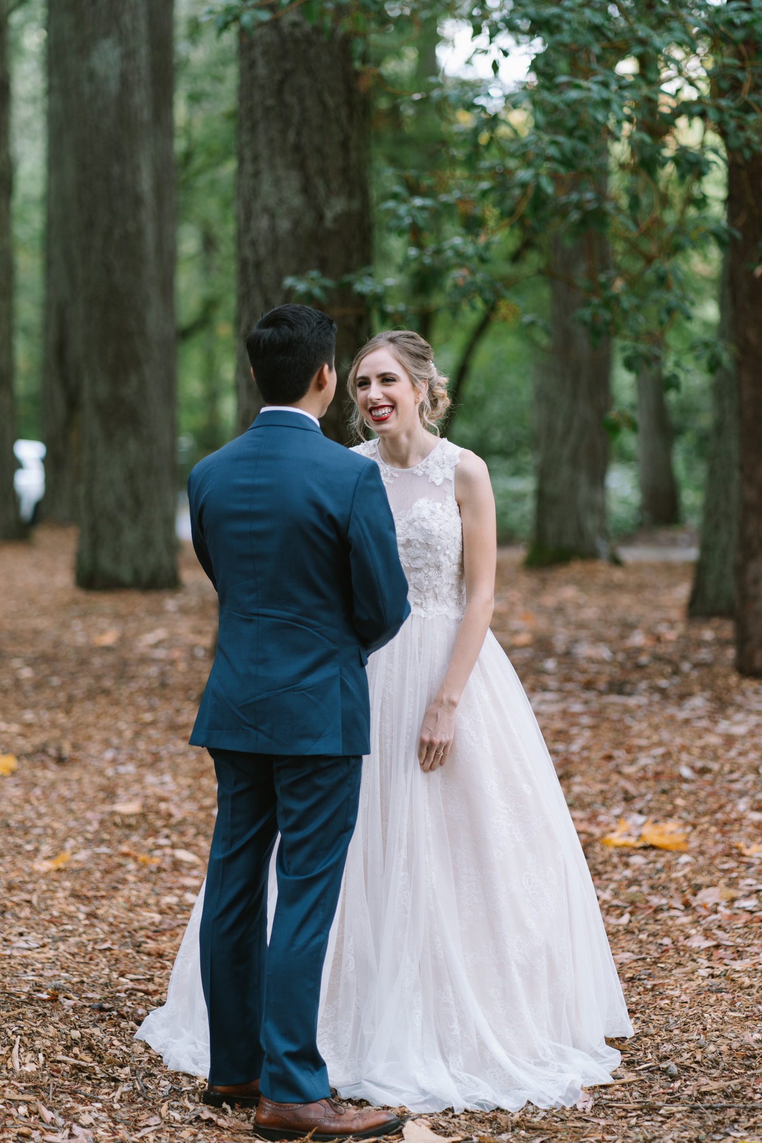 Bride and Groom - First Look
