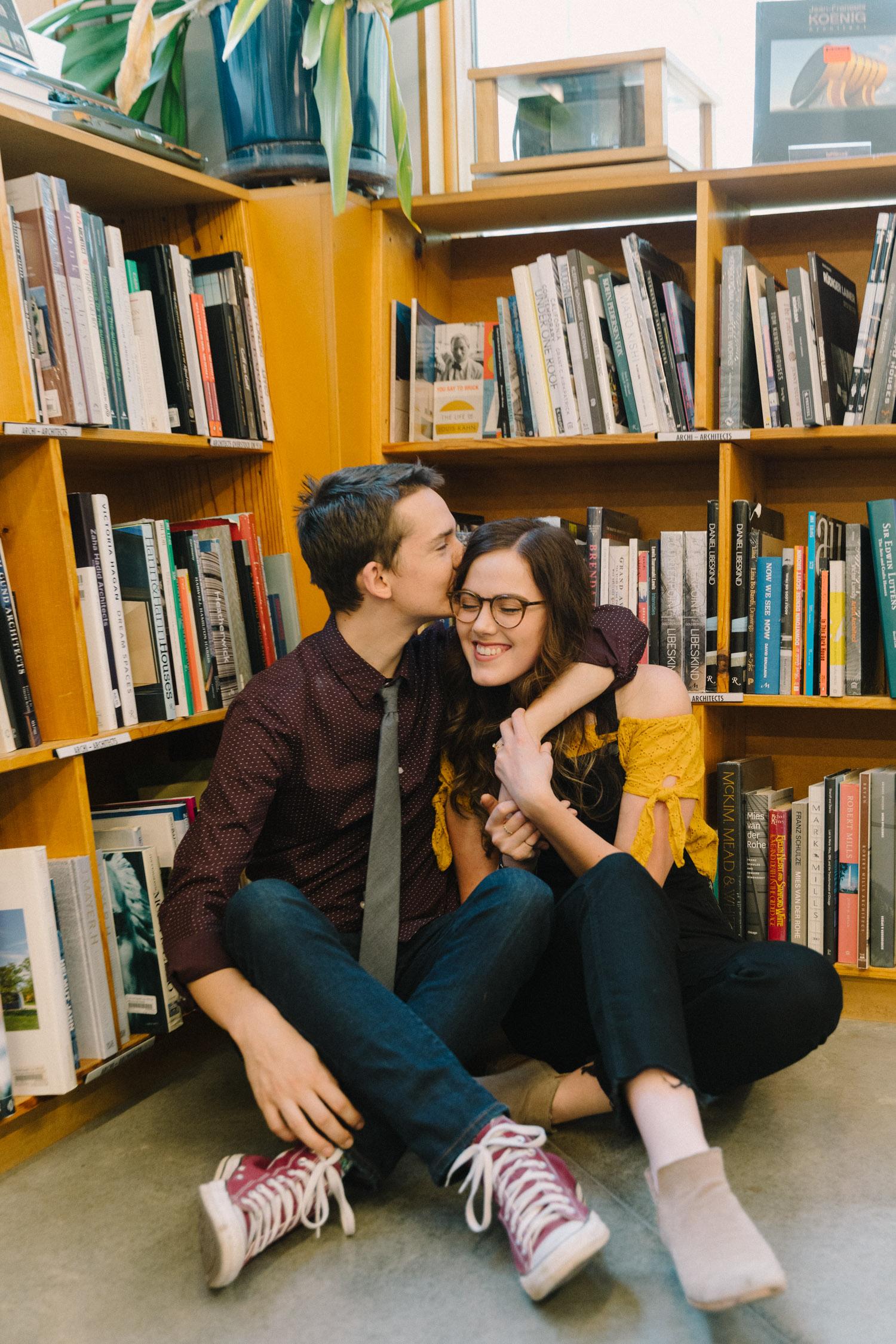 Portland Engagement Photo